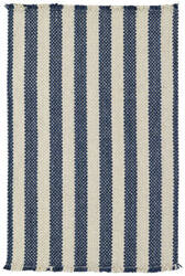 Capel Nags Head 404 Blue Stripe Area Rug