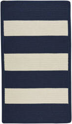 Capel Willoughby 848 Indigo - White Area Rug