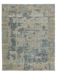 Capel Ellerbe 1095 Tan Blue Area Rug