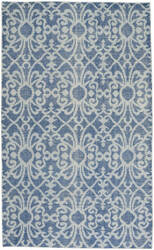 Capel Classic Courtyard 1710 Denim Area Rug