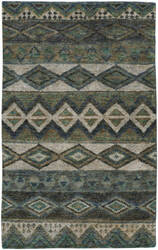 Capel Striation 1718 Green Area Rug