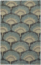 Capel Williamsburg Ina 1721 Blue Area Rug