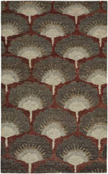 Capel Williamsburg Ina 1721 Ruby Area Rug