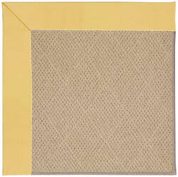 Capel Zoe Cane Wicker 1990 Lemon Area Rug