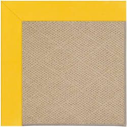 Capel Zoe Cane Wicker 1990 Summertime Yellow Area Rug