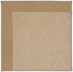 Capel Zoe Cane Wicker 1990 Light Gold Area Rug