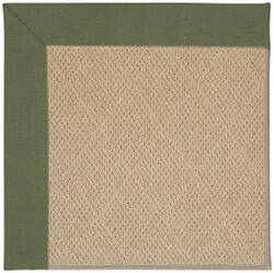 Capel Zoe Cane Wicker 1990 Plant Green Area Rug