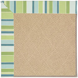 Capel Zoe Cane Wicker 1990 Bay Breeze Area Rug