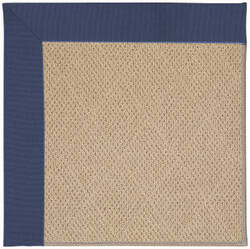 Capel Zoe Cane Wicker 1990 Blue Area Rug