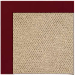 Capel Zoe Cane Wicker 1990 Wine Area Rug