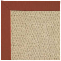 Capel Zoe Cane Wicker 1990 Strawberry Area Rug