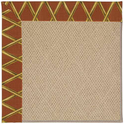 Capel Zoe Cane Wicker 1990 Cinnabar Honey Area Rug