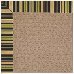 Capel Zoe Grassy Mountain 1991 Charcoal Stripe Area Rug