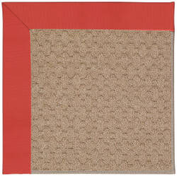 Capel Zoe Grassy Mountain 1991 Sunset Red Area Rug