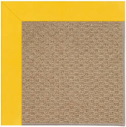 Capel Zoe Raffia 1992 Summertime Yellow Area Rug