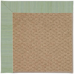 Capel Zoe Raffia 1992 Green Spa Area Rug