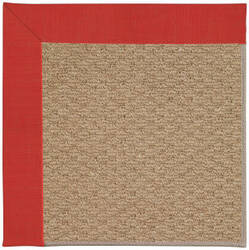 Capel Zoe Raffia 1992 Red Crimson Area Rug