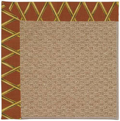 Capel Zoe Raffia 1992 Cinnabar Honey Area Rug