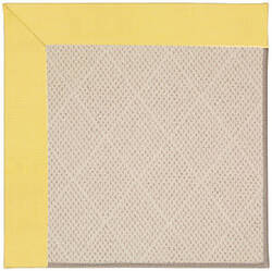 Capel Zoe White Wicker 1993 Yellow Area Rug