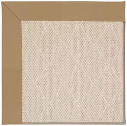 Capel Zoe White Wicker 1993 Light Gold Area Rug