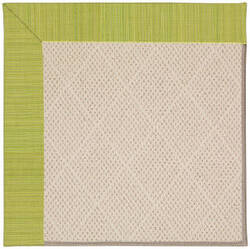 Capel Zoe White Wicker 1993 Pea Pod Area Rug