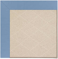 Capel Zoe White Wicker 1993 Medium Blue Area Rug