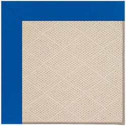 Capel Zoe White Wicker 1993 Reef Blue Area Rug