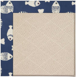 Capel Zoe White Wicker 1993 Pitch Area Rug