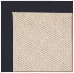 Capel Zoe White Wicker 1993 Dark Navy Area Rug