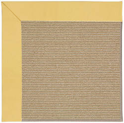 Capel Zoe Sisal 1995 Lemon Area Rug