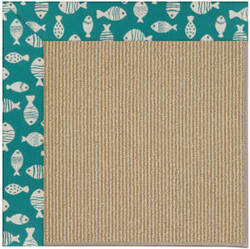 Capel Zoe Sisal 1995 Sea Green Area Rug