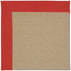 Capel Zoe Sisal 1995 Red Crimson Area Rug