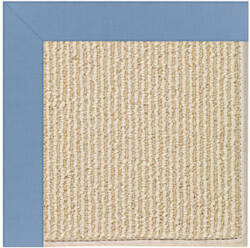Capel Zoe Beach Sisal 2009 Medium Blue Area Rug