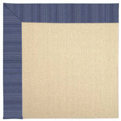 Rugstudio Sample Sale 62829R Navy Stripe Area Rug