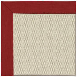 Capel Inspirit Linen 2013 Apple Red Area Rug