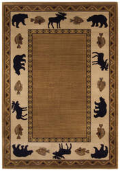 Capel Cottage Grove 2365 Medium Brown Area Rug
