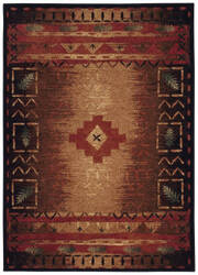 Capel Badin 2366 Coffee Multi Area Rug