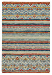 Capel Shakta Kelim 2569 Multitone Area Rug