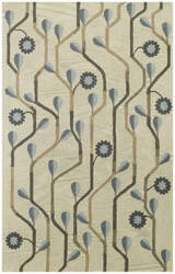 Capel Kevin O'brien Blue Bell Twining 3027 Blue Area Rug