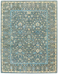 Capel Smyrna Persian Cedars 3157 Blue Area Rug