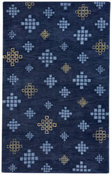 Capel Cococozy Geneva 3297 Blue Blonde Area Rug