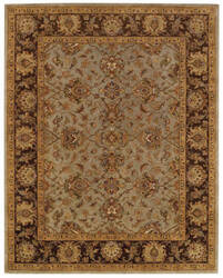 Capel Monticello Meshed 3313 Honeydew - Chocolate Area Rug