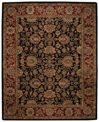 Capel Piedmont Persian 3366 Ebony Area Rug