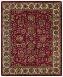 Capel Piedmont Persian 3366 Cinnabar - Ivory Area Rug