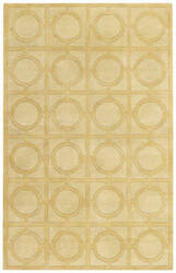 Capel Biltmore Morgan Hill Rings 3399 Yellow Area Rug