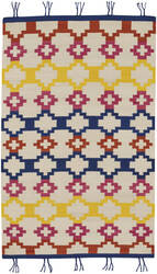 Capel Genevieve Gorder Hyland 3643 Red Yellow Area Rug