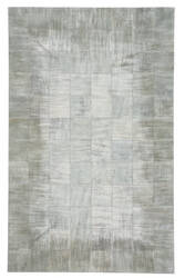 Capel Butte Brushed Blocks 3675 Silver Area Rug