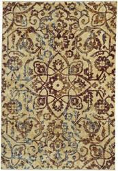 Capel Anatolia Vintage Star 3804 Ruby Area Rug