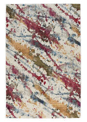 Capel Flame Splatter 3814 Ivory Area Rug