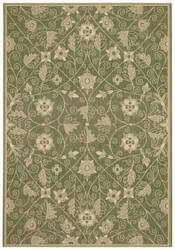 Capel Williamsburg Elsinore Garden Maze 4699 Fern Green Area Rug